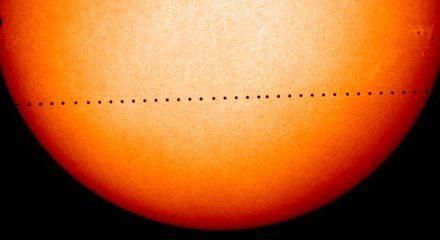 Διάβαση Ερμή από τον ηλιακό δίσκο