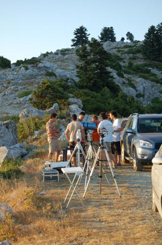 1η Πανελλήνια Συνάντηση Ερασιτεχνών Αστρονόμων, Δίρφη Εύβοιας 20-21/7/2007