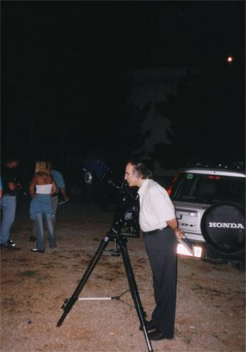 Eκδρομή στο αστεροσκοπείο Κρυονερίου (Αυγ. 2002)