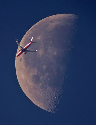 normal moon-airplane