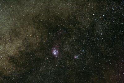 Lagoon Nebula (M8) & Triffid Nebula (M20)