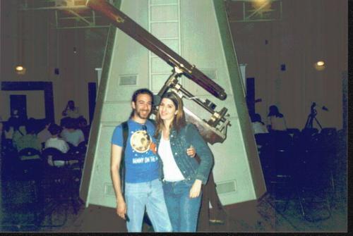Εκδρομή στα αστεροσκοπεία Πεντέλης-Κρυονερίου (Ιούνιος 2003)
