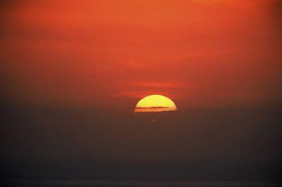Ηλιοβασίλεμα από την Πάτρα