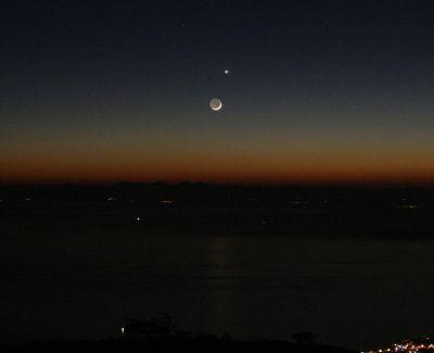 Σύνοδος Σελήνης-Αφροδίτης 20/1/2007
