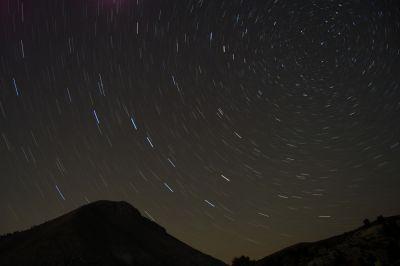 Star Trails - Δίρφυς 20 Ιουλίου 2007